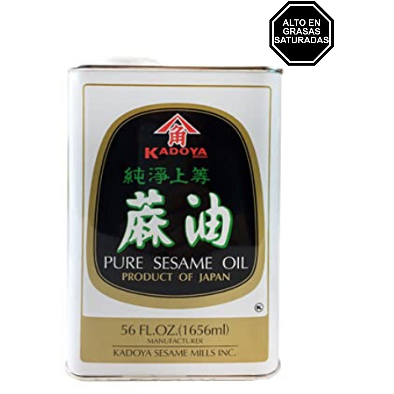KADOYA Kadoya Sesame Oil 56 Oz. (1.66 Lt) SIN COLOR Sésamo