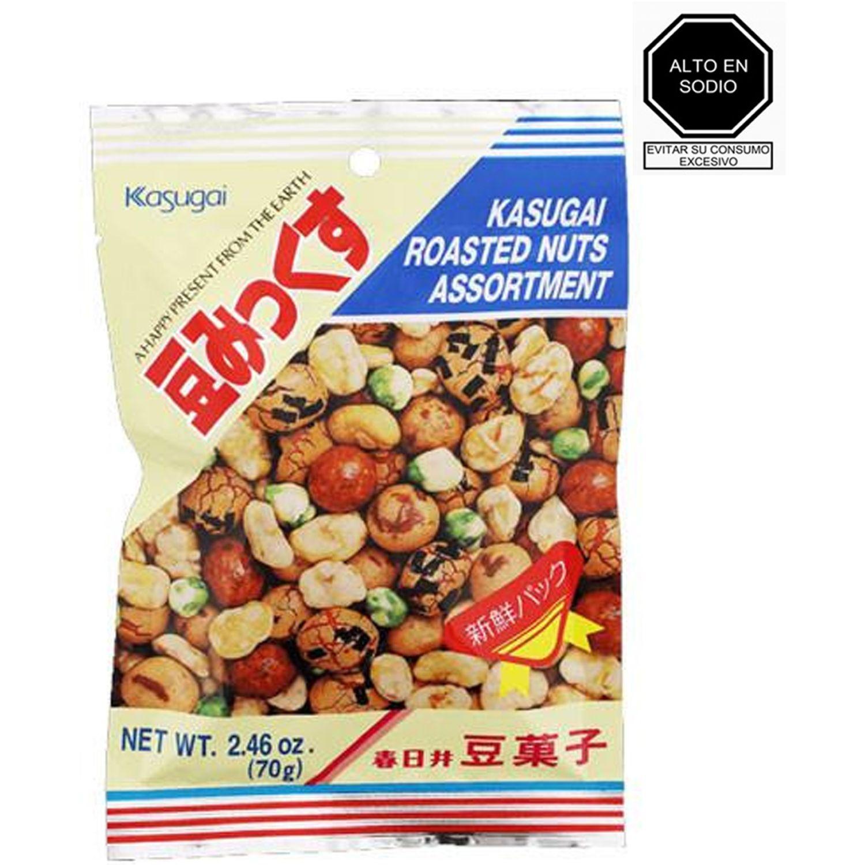 KASUGAI Kasugai  Roasted Nuts Assortment SIN COLOR Las frutas mixtas
