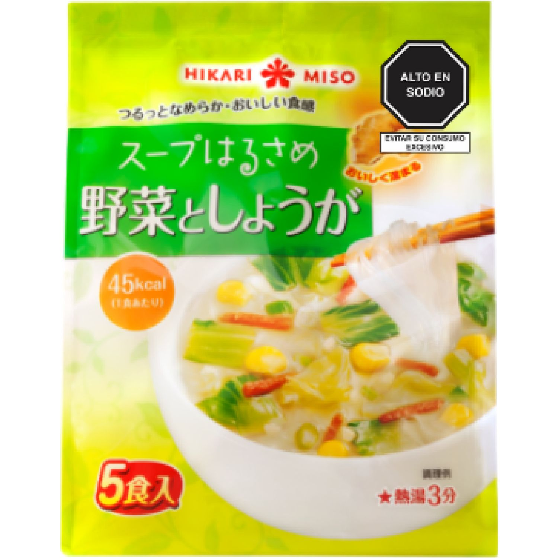 HIKARI MISO Soup Harusame Yasai & Kaiso 2.48 Oz SIN COLOR Sopas, guisos y chile