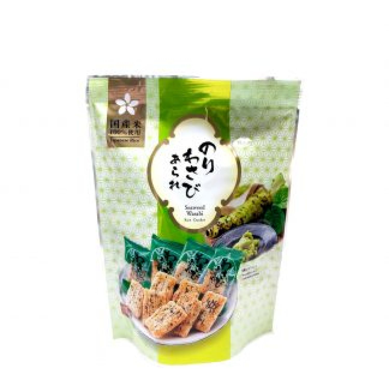 MORIHAKU Nori Wasabi Arare 1.12oz SIN COLOR Pasteles de arroz, patatas fritas y galletas