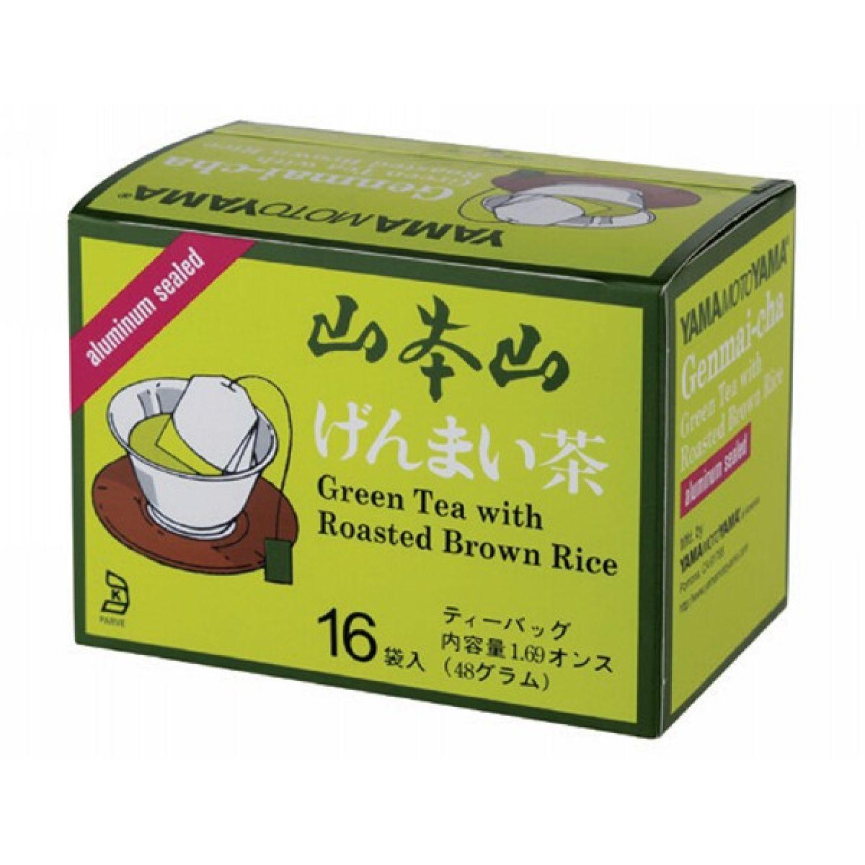 YAMAMOTOYAMA Ymy Genmai Tea Bags 1.69 Oz (16 Pk) SIN COLOR Té