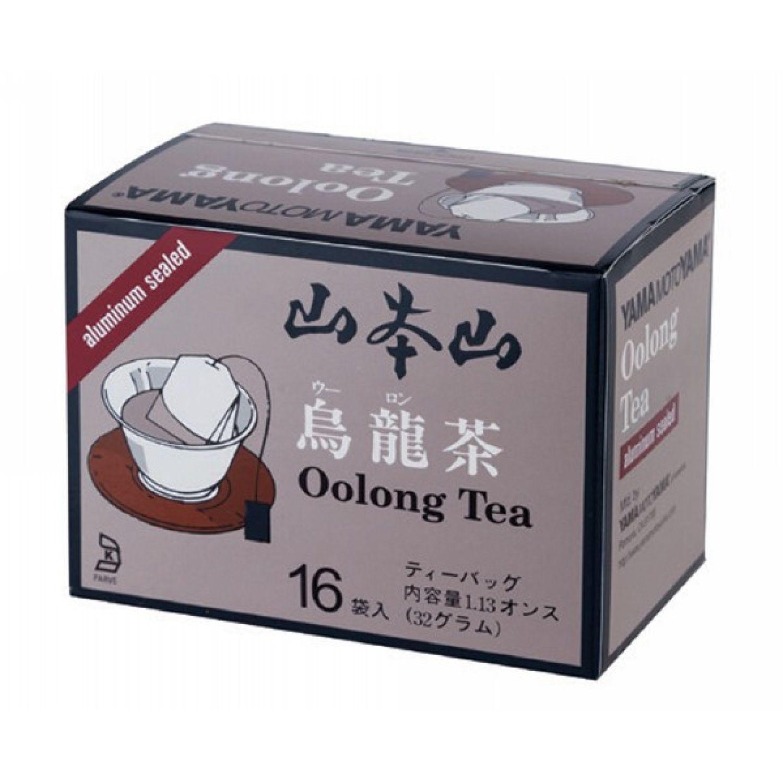 YAMAMOTOYAMA Ymy Oolong Tea Bag 1.1oz 16p SIN COLOR Oolong