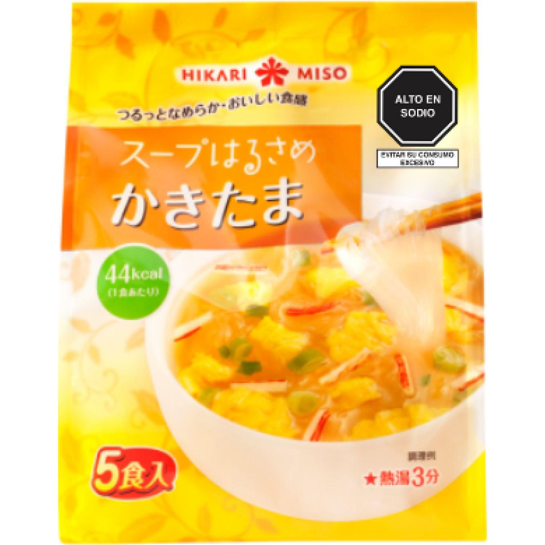 HIKARI MISO Soup Harusame Kakitama 66 G SIN COLOR Sopas y caldos