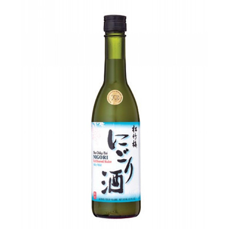 SHO CHIKU BAI Scb Nigori Silky Mild (-20) 300ml SIN COLOR Sake y Licor de Arroz