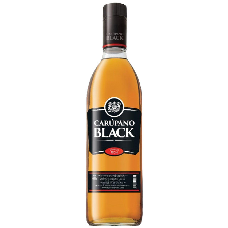 Carúpano Black Blend de Rones 3 Años 700 ML SIN COLOR Ron