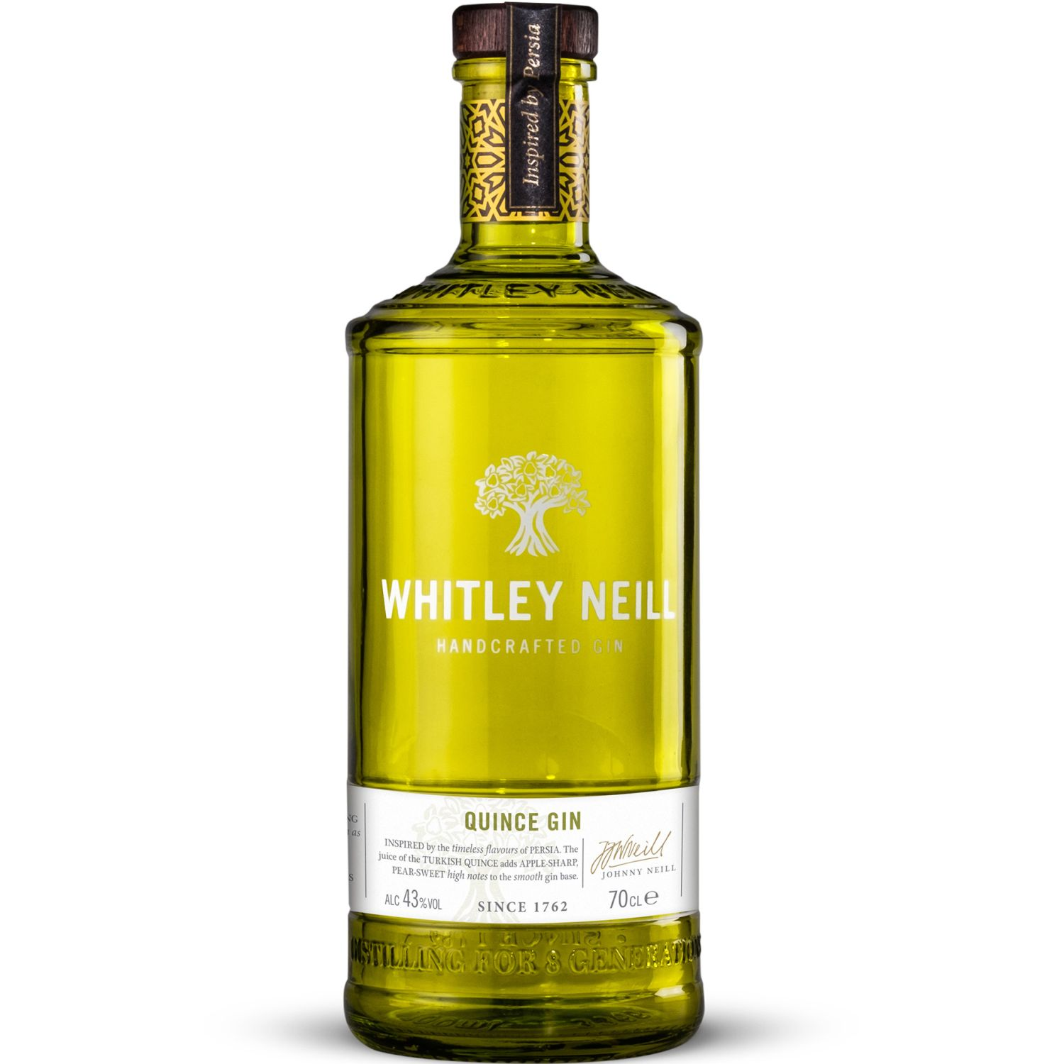 Whitley Neill Whitley Neill Quince Gin700 Ml SIN COLOR Gin