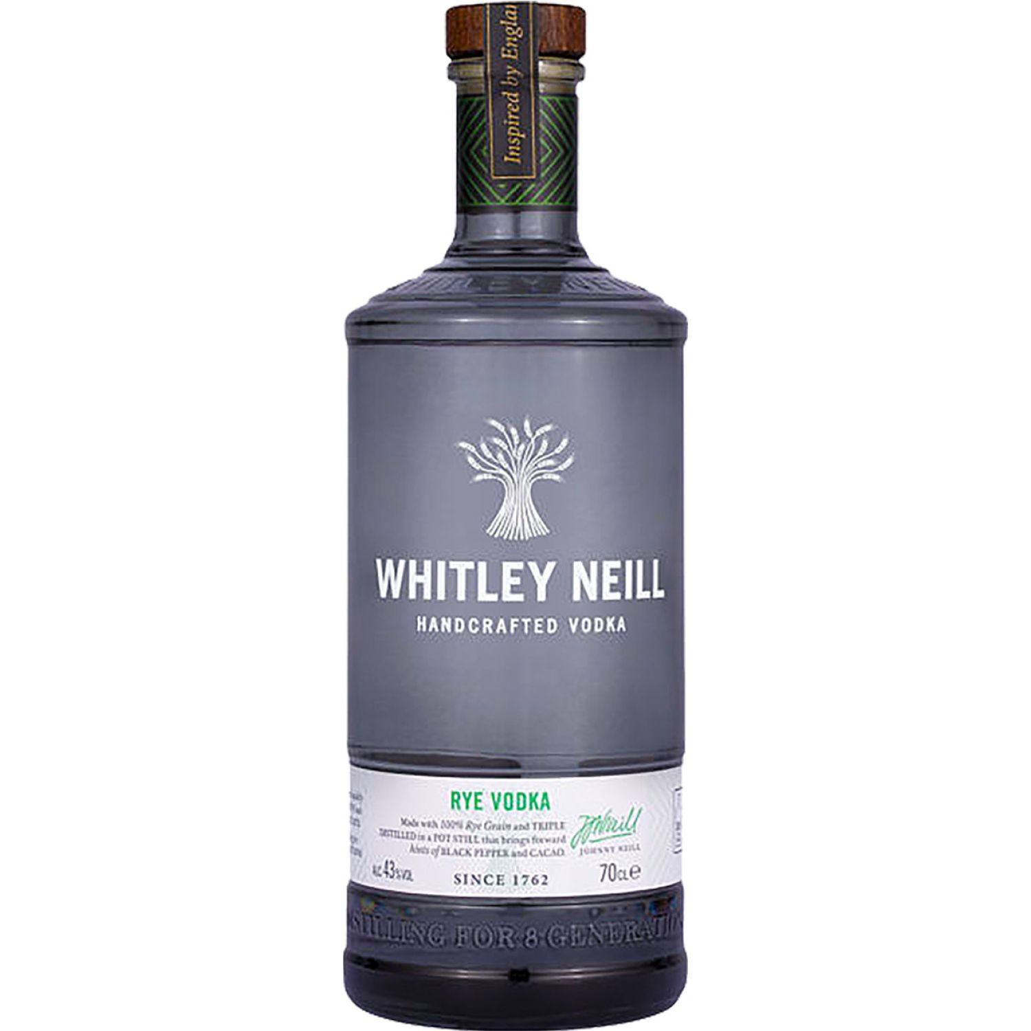 Whitley Neill Whitley Neill Rye Vodka 700ML SIN COLOR Vodka