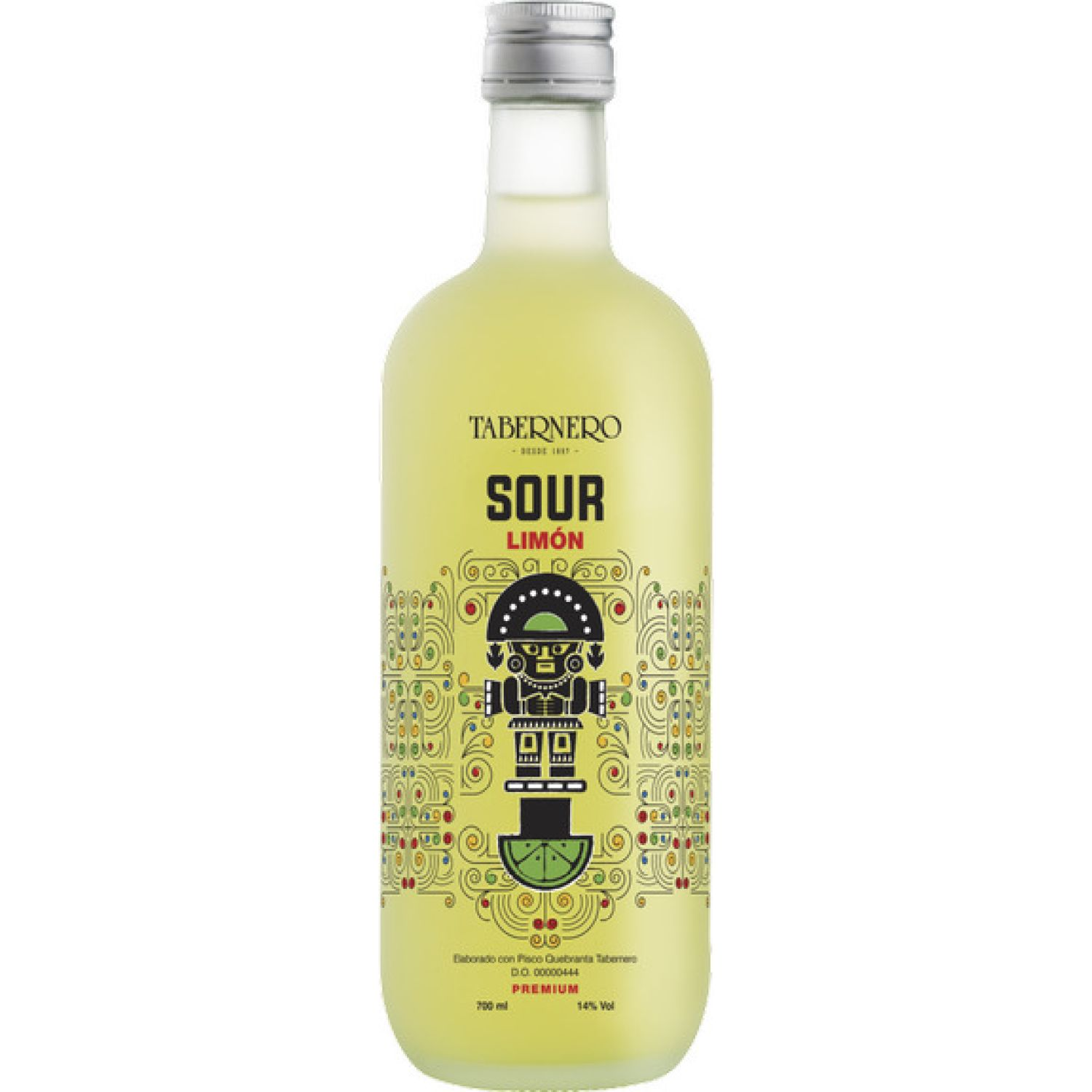 TABERNERO Pisco Sour Limón  700ml SIN COLOR Licores preparados