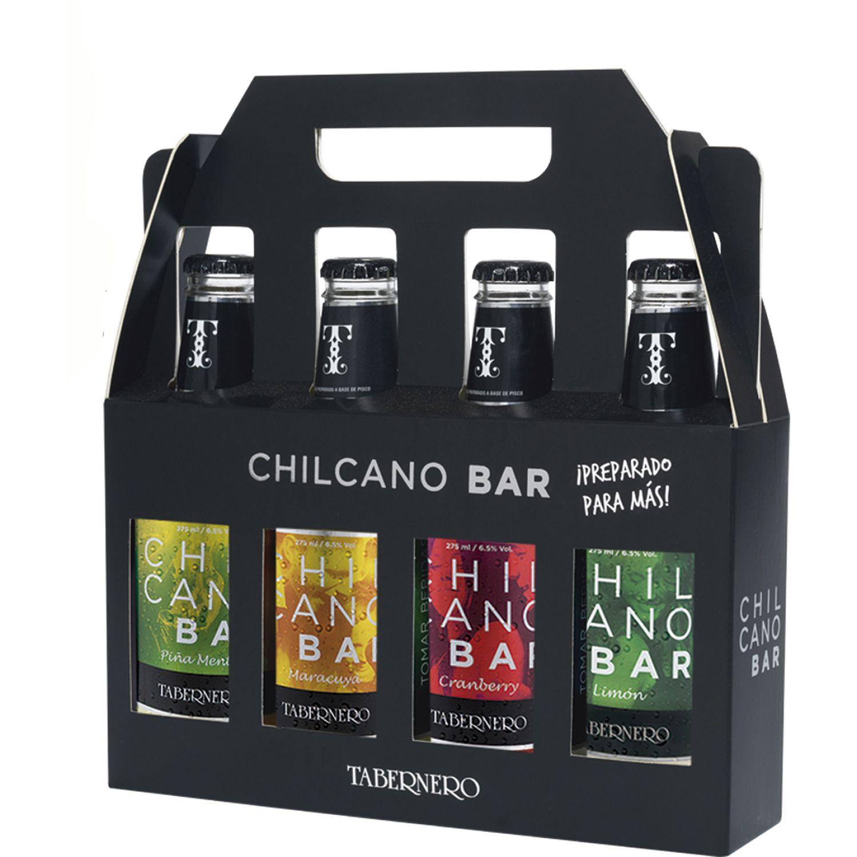 TABERNERO 4 Pack Chilcano Bar 4 X275 Ml SIN COLOR Licores preparados