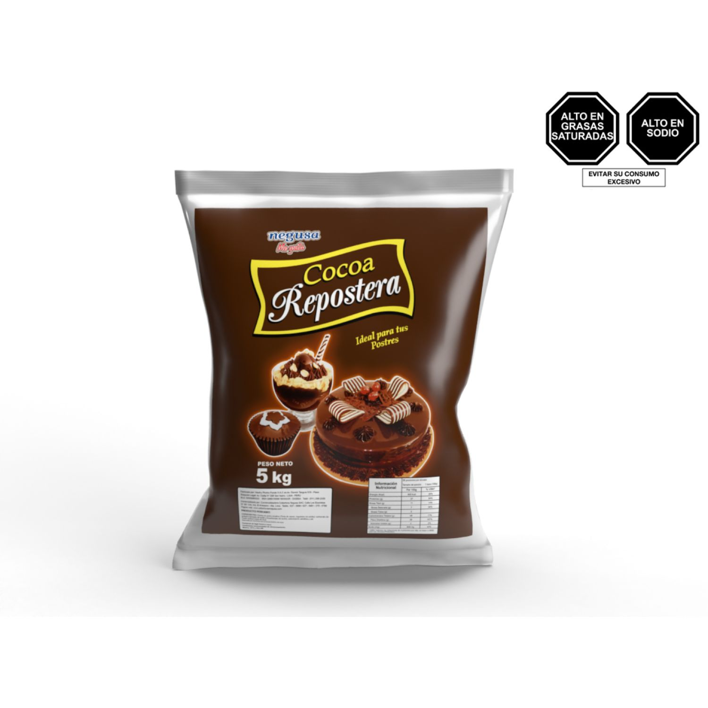 NEGUSA 5Kg COCOA REPOSTERA MARRON OSCURO Cacao