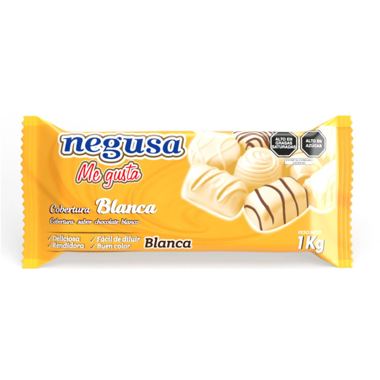 NEGUSA 1Kg COBERTURA BLANCA BLANCO chocolates