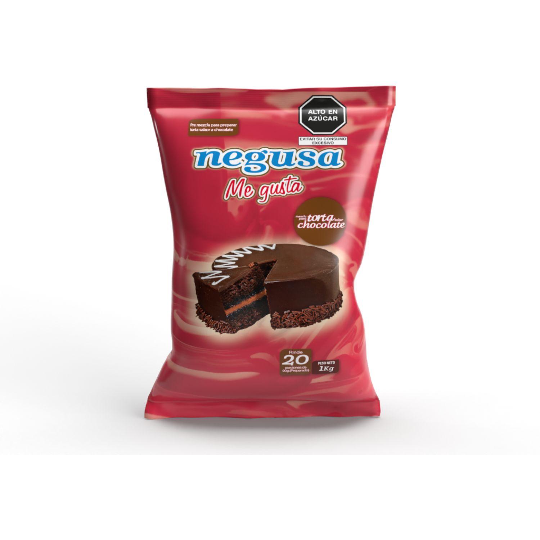 NEGUSA 1kg premezcla de torta sabor chocolate MARRON tortas