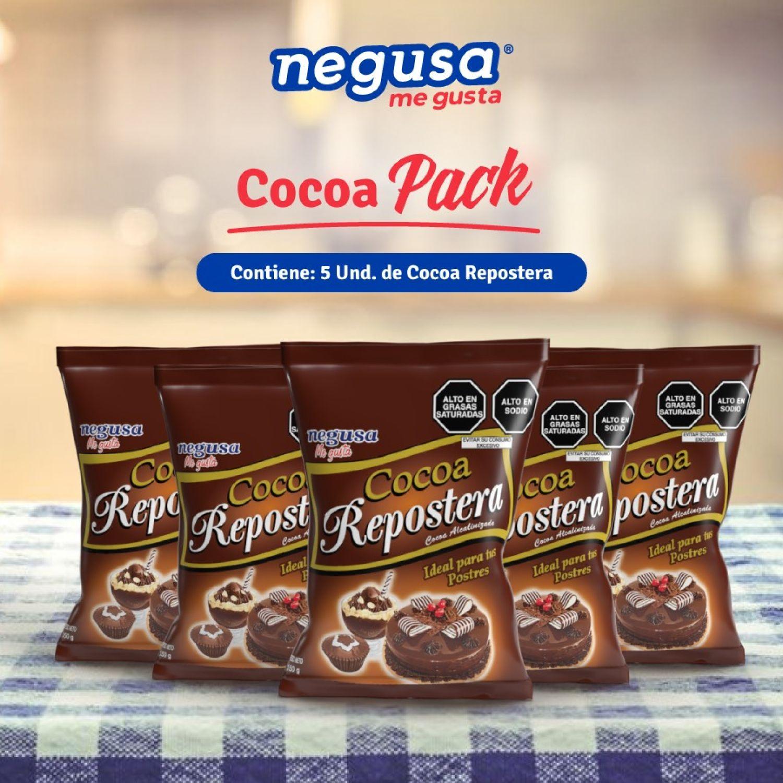 NEGUSA Cocoa Pack ( 5 unidades de 150gr) MARRON OSCURO Cacao
