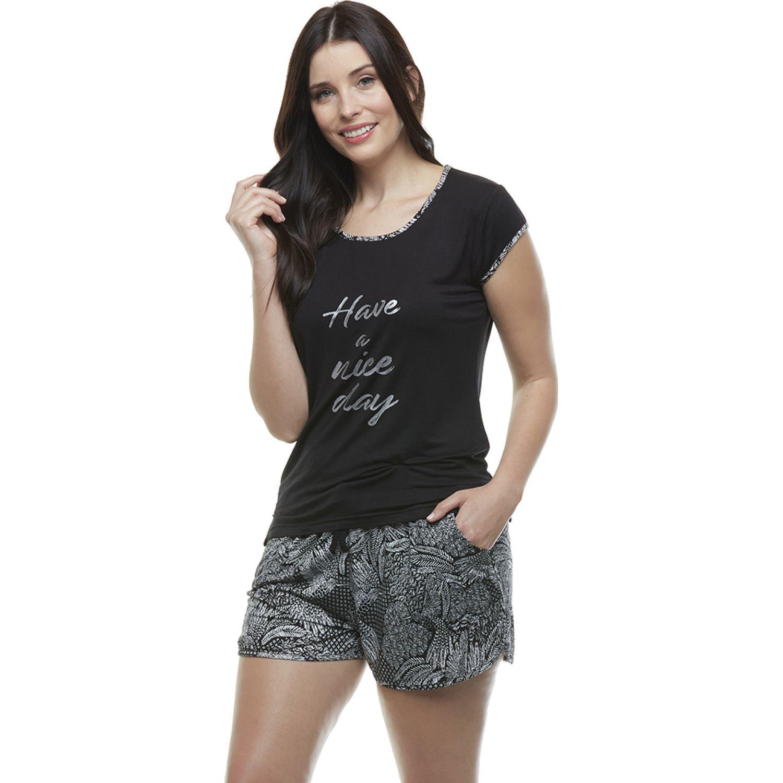 Kayser Pijama Viscosa NEGRO Camisones y camisetas de dormir