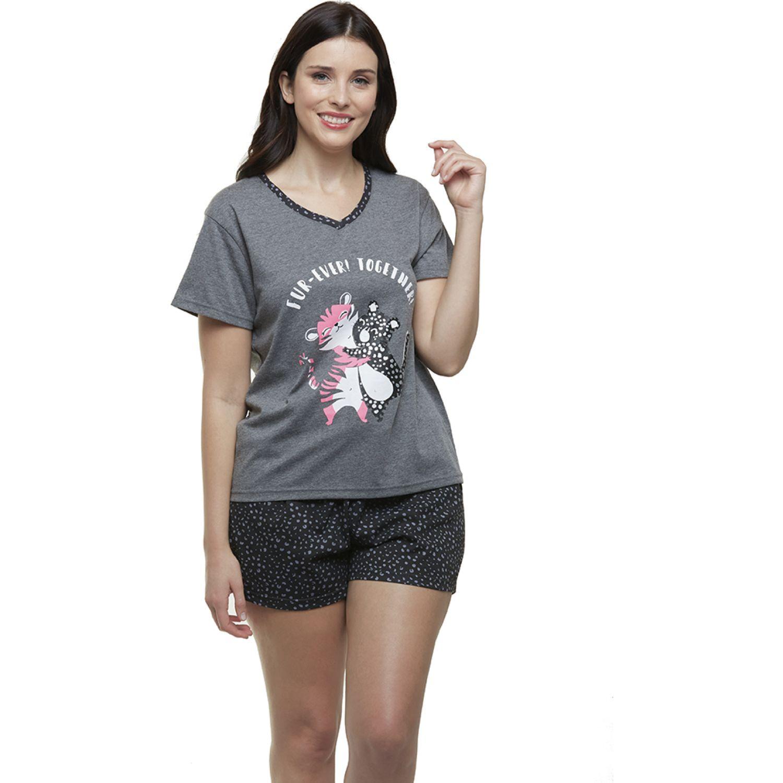 Kayser Pijama Algodón GRIS Camisones y camisetas de dormir
