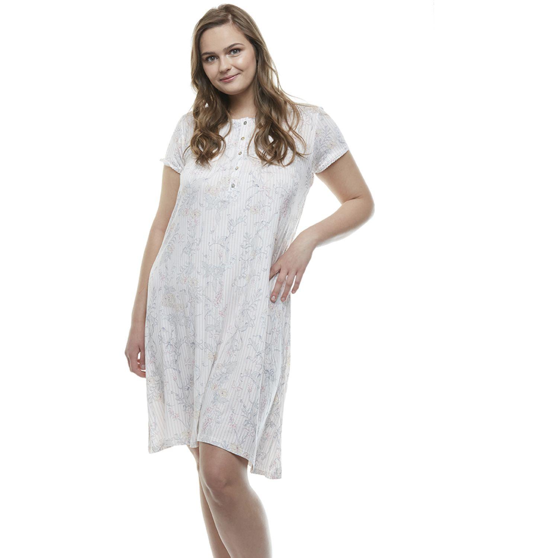 Kayser Camisa Manga Corta Algodón ROSA Camisones y camisetas de dormir