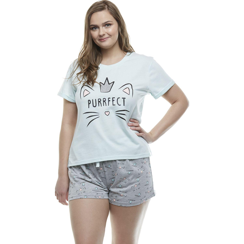 Kayser Pijama Algodón TURQUESA Camisones y camisetas de dormir