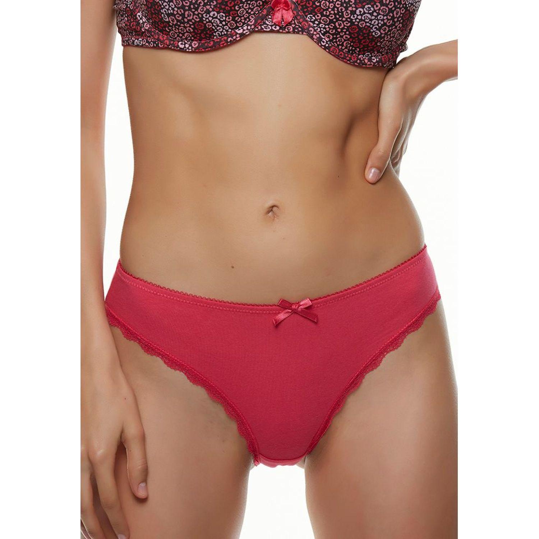 Kayser Bikini Algodón GUINDA Tangas e hilos