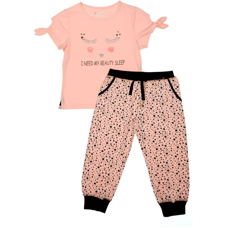 Kayser Pijama Algodón CORAL Conjunto de pijama