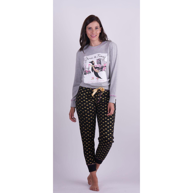 Kayser Pijama Algodón 60.1254 GRIS Camisones y camisetas de dormir