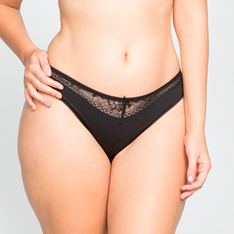 Kayser Bikini Algodon NEGRO Bikinis