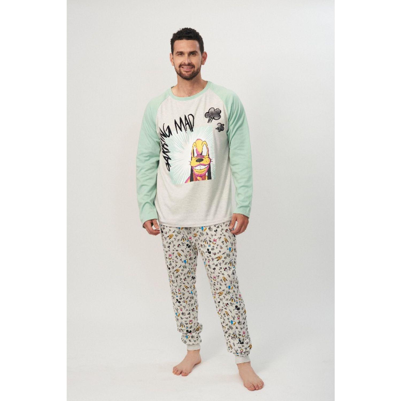 Kayser Pijama Caballero D6720 Algodón Gris GRIS Conjuntos para dormir
