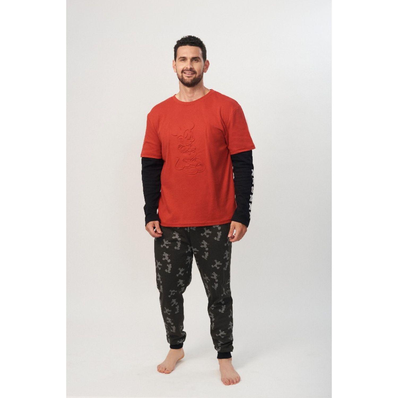 Kayser Pijama Caballero D6721 Algodón Rojo ROJO Conjuntos para dormir