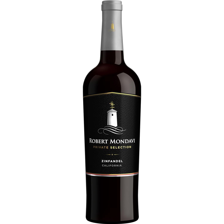 ROBERT MONDAVI Private Selection Zinfandel X 750ml SIN COLOR Vino Tinto
