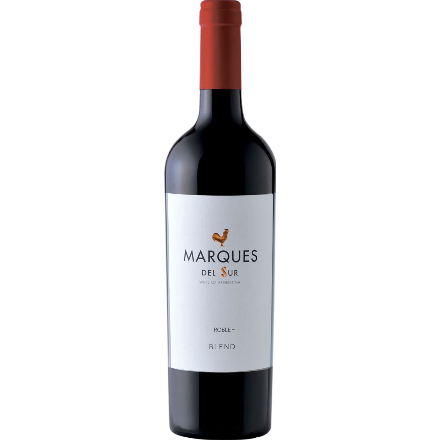 MARQUES DEL SUR Vino Tinto Roble Blend X 750ml SIN COLOR Tinto