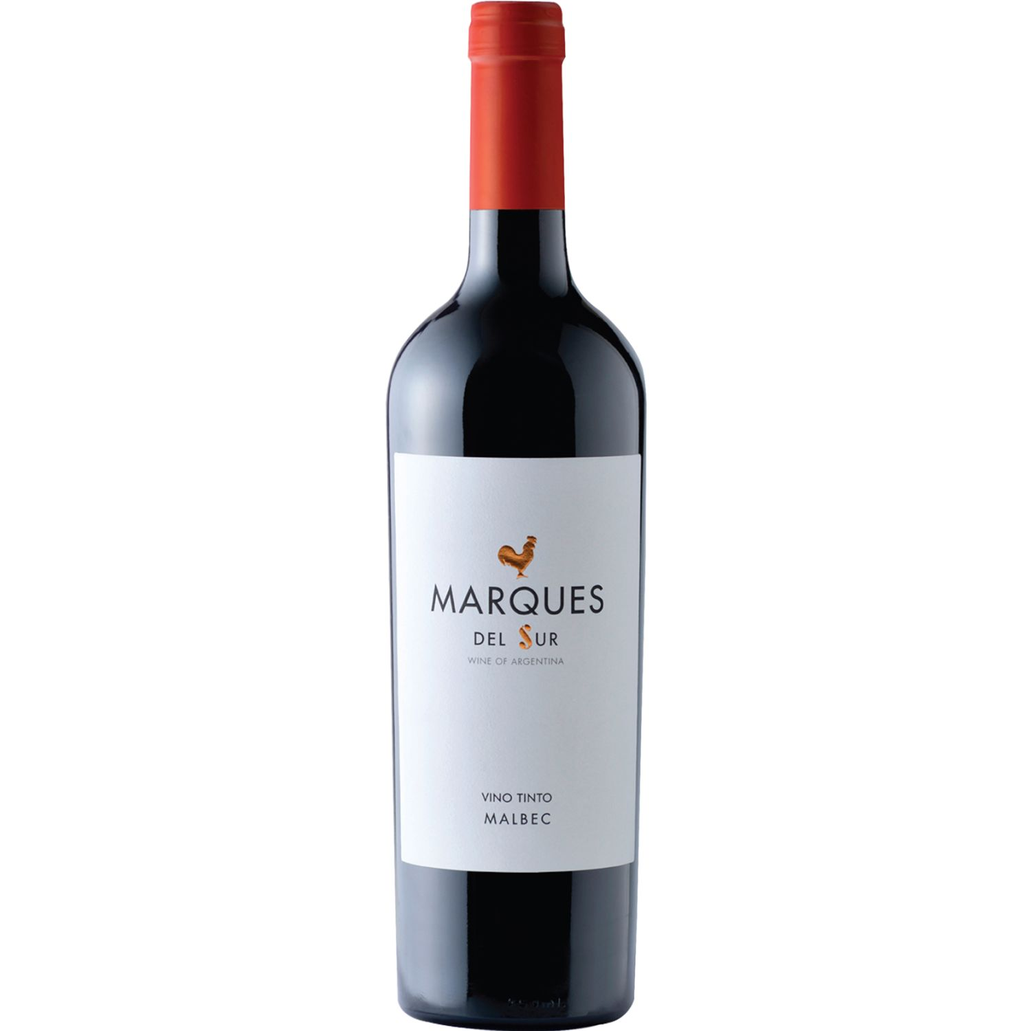MARQUES DEL SUR Vino Tinto Roble Malbec X 750ml SIN COLOR Tinto