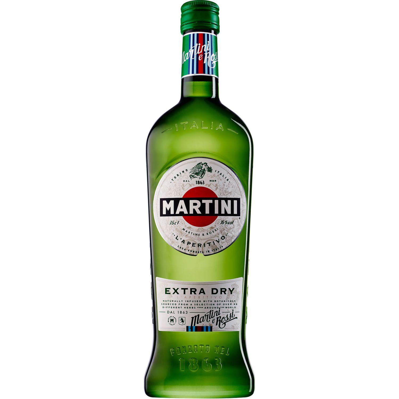 MARTINI Vermouth X-Dry X 750ml SIN COLOR Postre