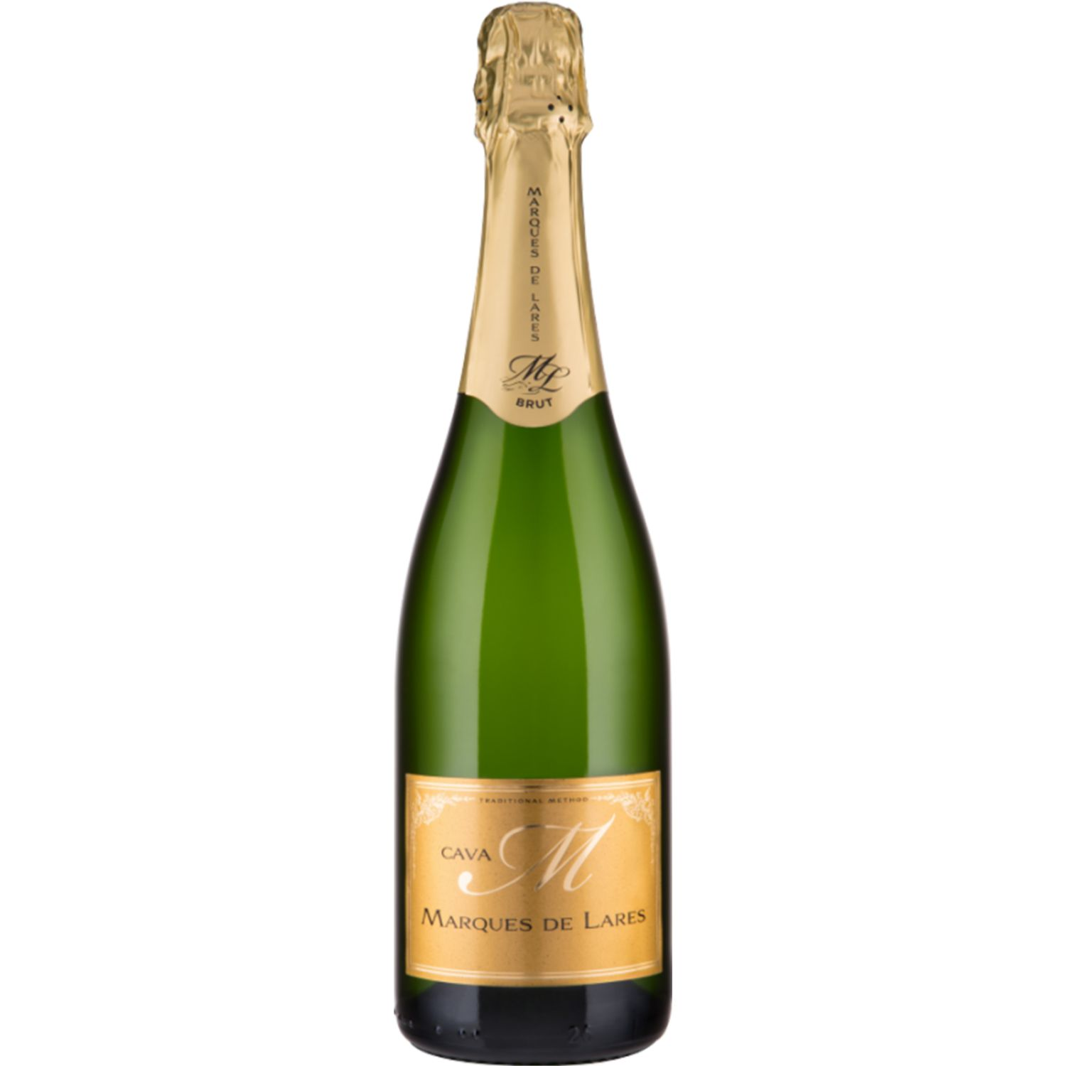 MARQUES DE LARES Cava Brut X 750ml SIN COLOR Espumante