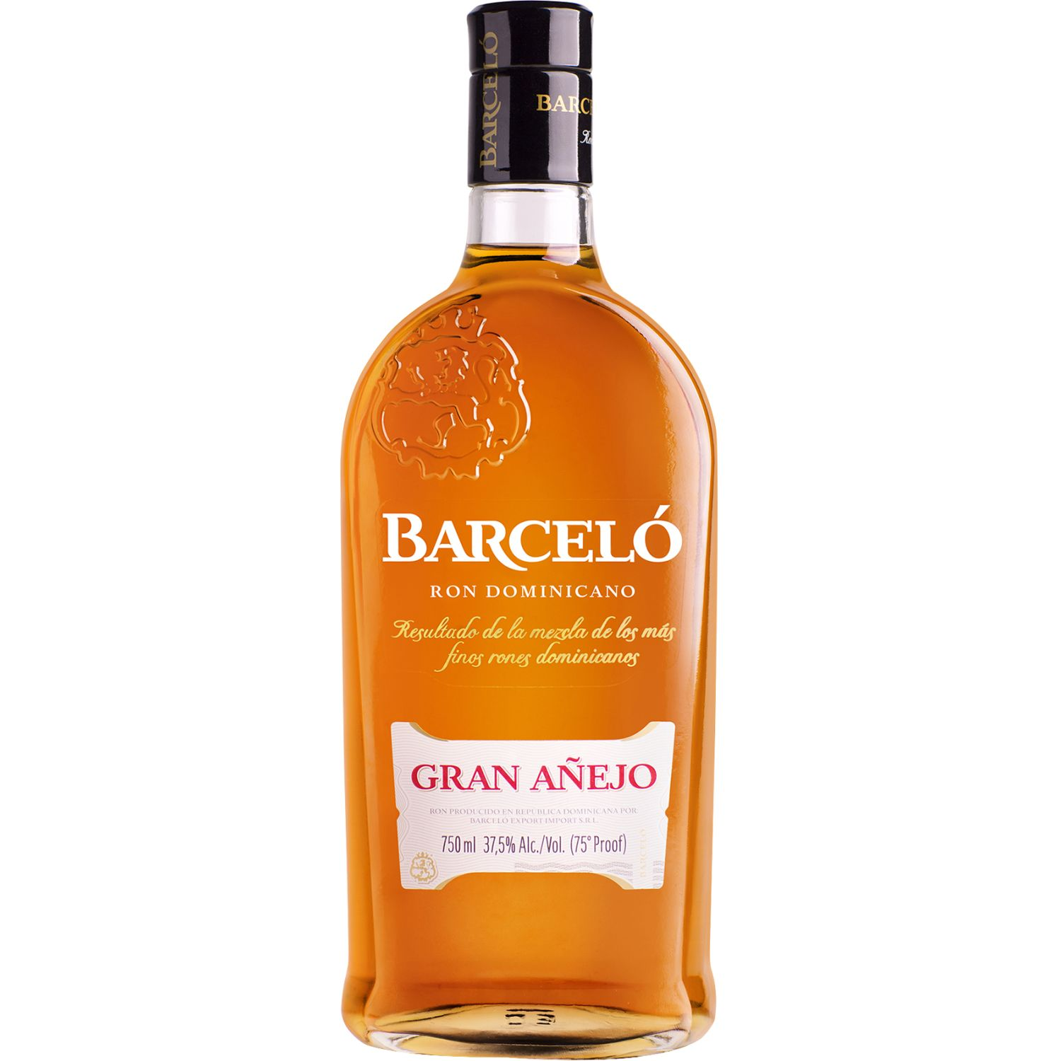 BARCELO Ron Gran Añejo X 750ml SIN COLOR Ron