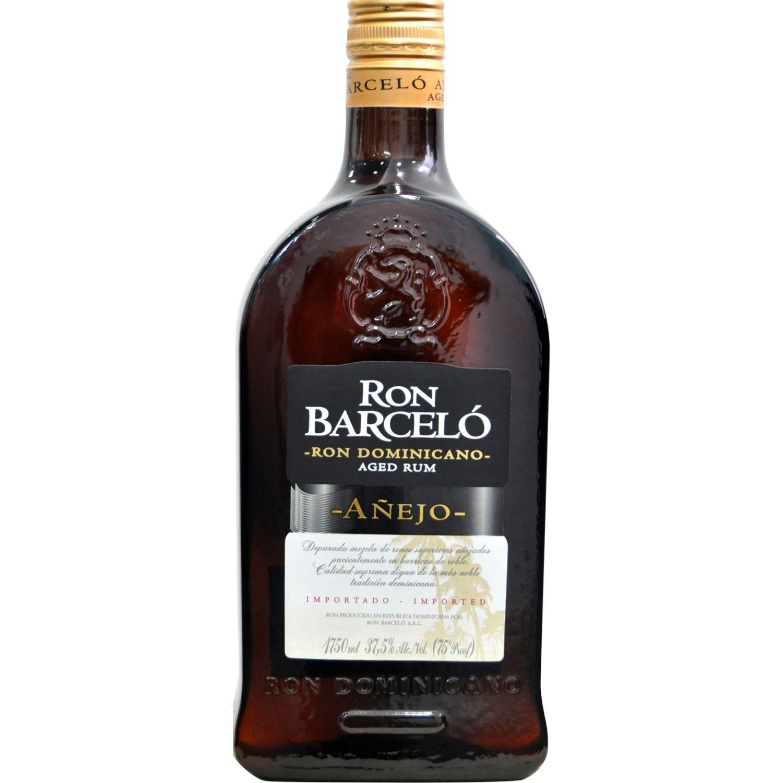BARCELO Ron Añejo Garrafa X 1.75 Lt SIN COLOR Ron