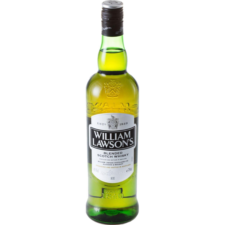 WILLIAM LAWSON Whisky Estándar X 750 Ml SIN COLOR Whisky y Scotch