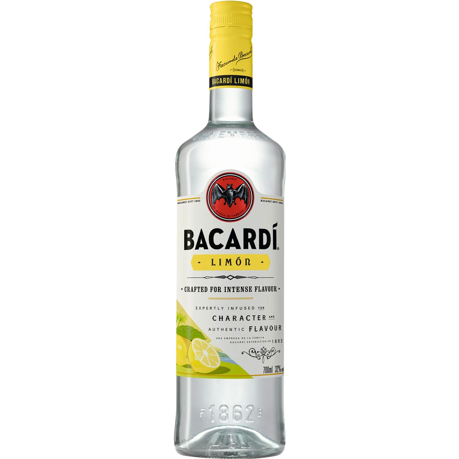 BACARDI Ron Limon X 750ml SIN COLOR Ron
