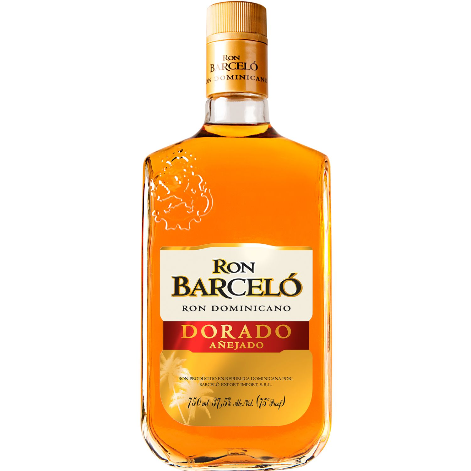 BARCELO RON DORADO X 750ML SIN COLOR Ron