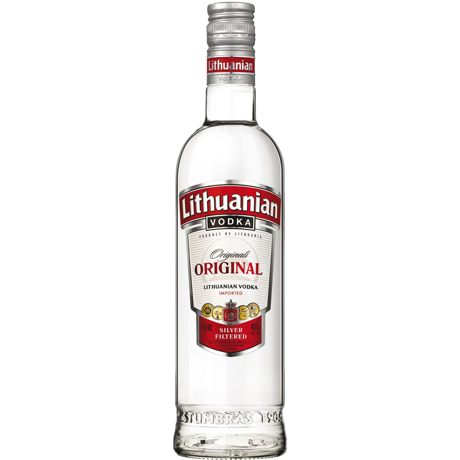 LITHUANIAM Vodka Classic X 1 Lt. SIN COLOR Vodka