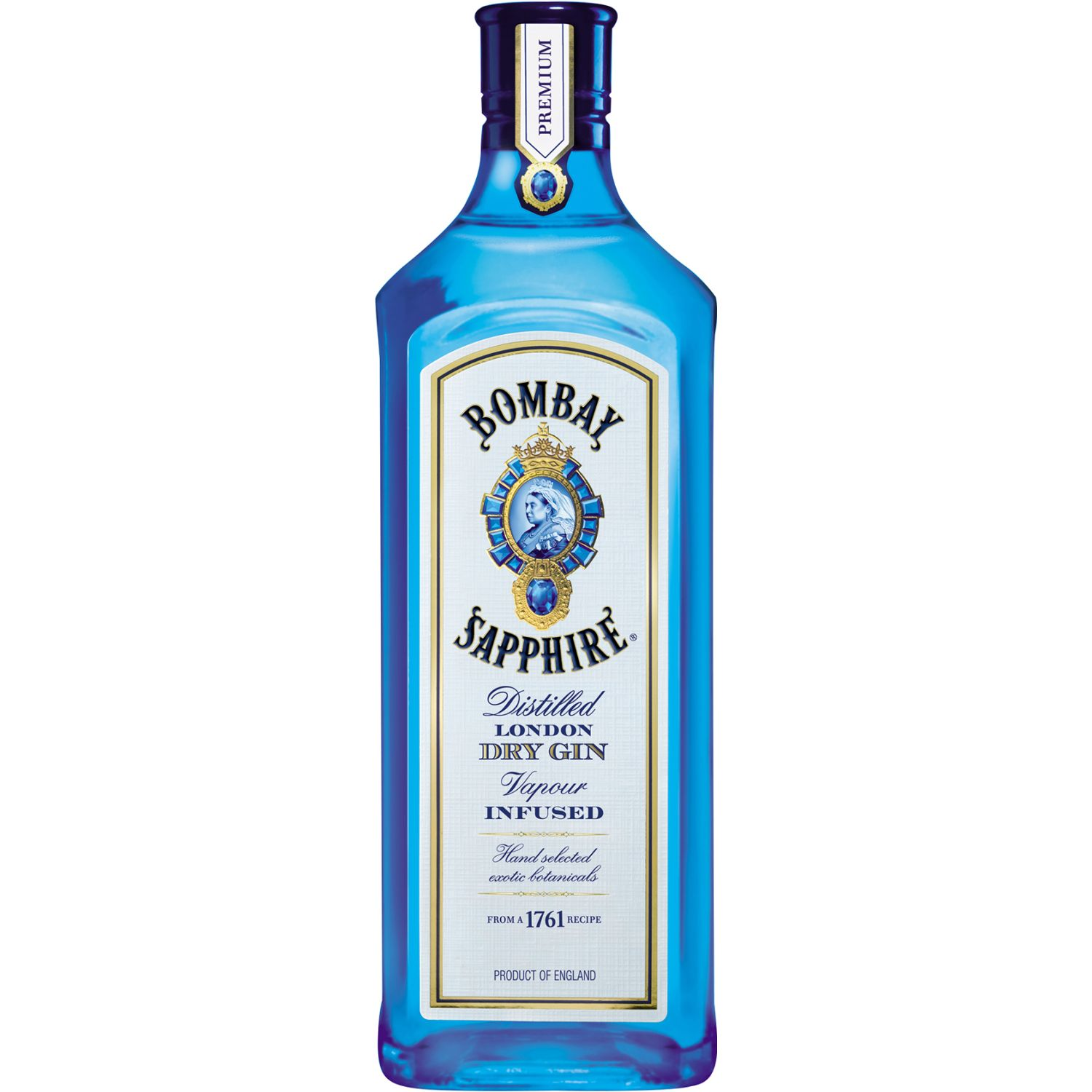 BOMBAY Gin Sapphire X 750ml SIN COLOR Gin