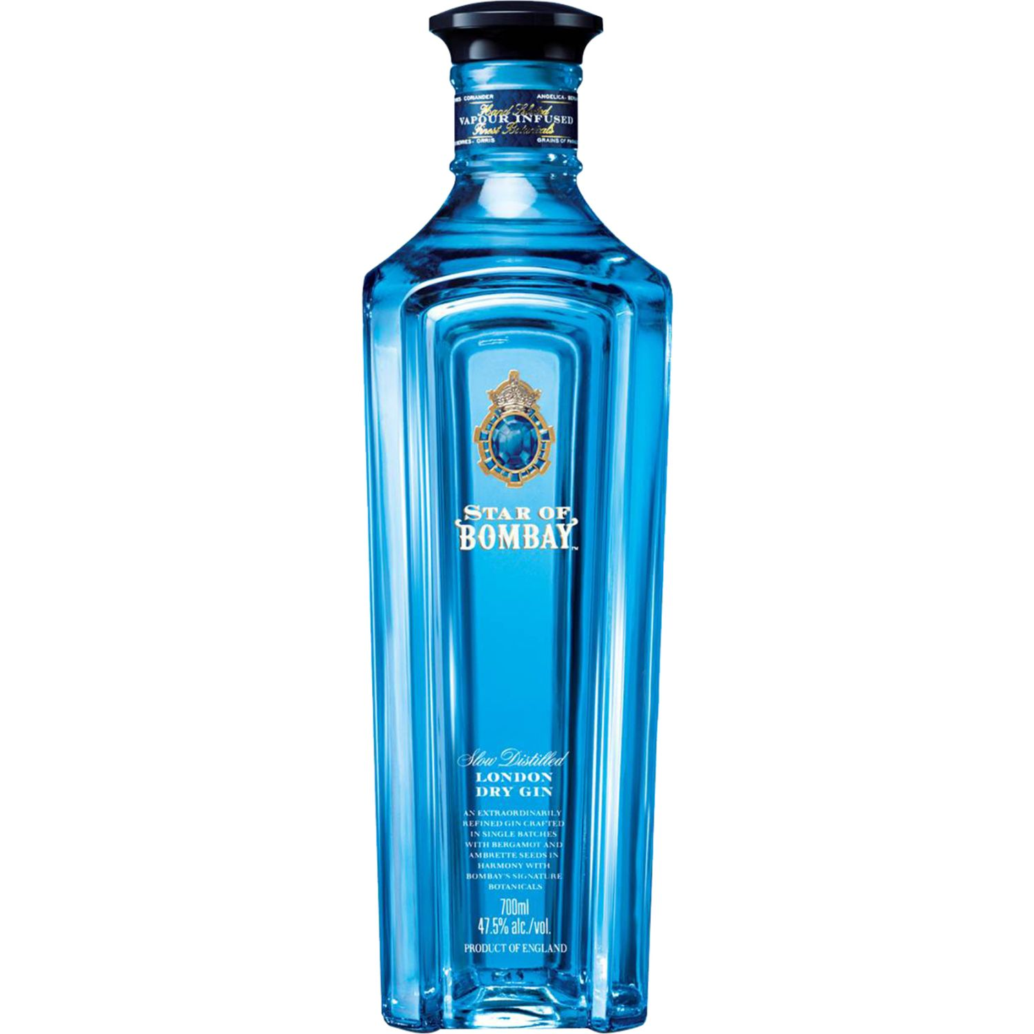 BOMBAY GIN STAR OF BOMBAY X 750ML SIN COLOR Gin