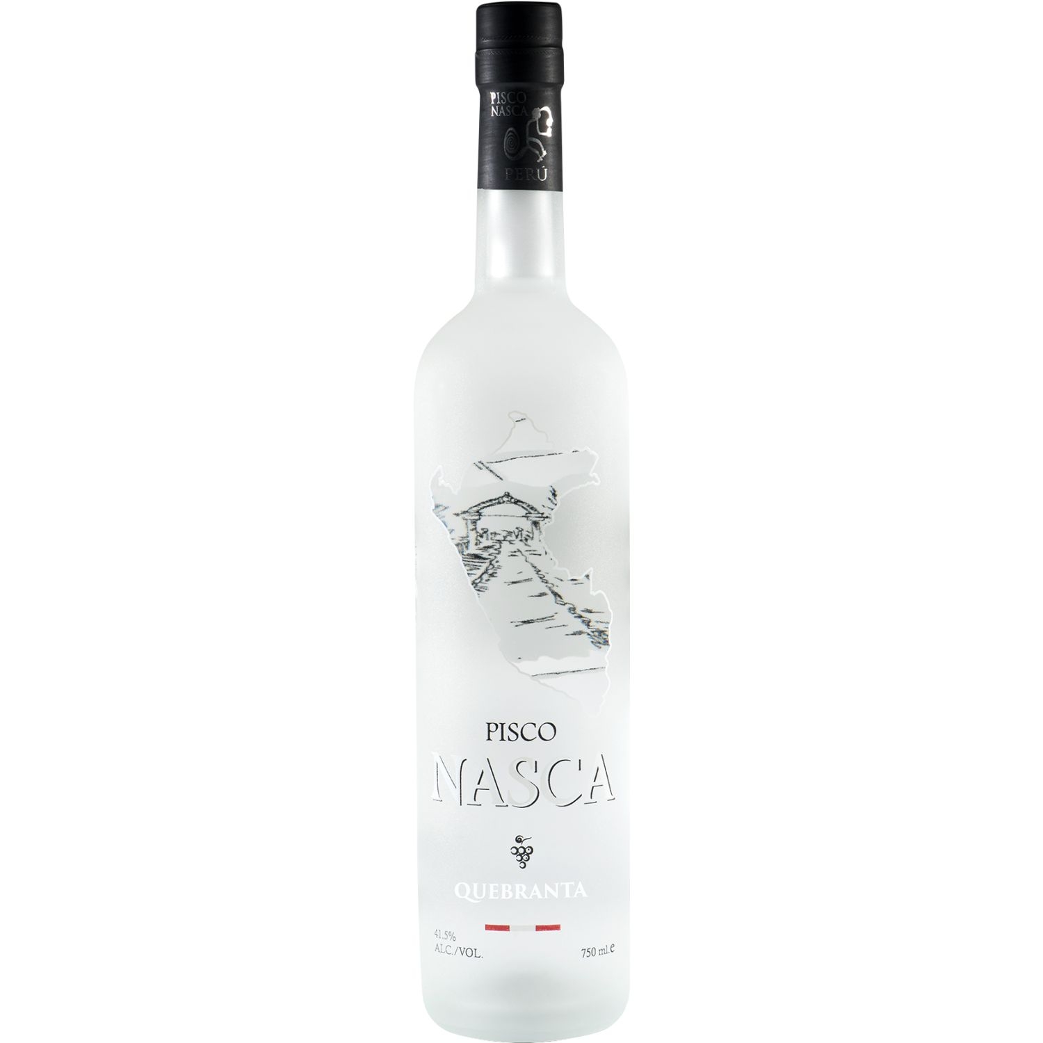 NASCA Pisco Quebranta X 750ml SIN COLOR Brandy y aguardientes