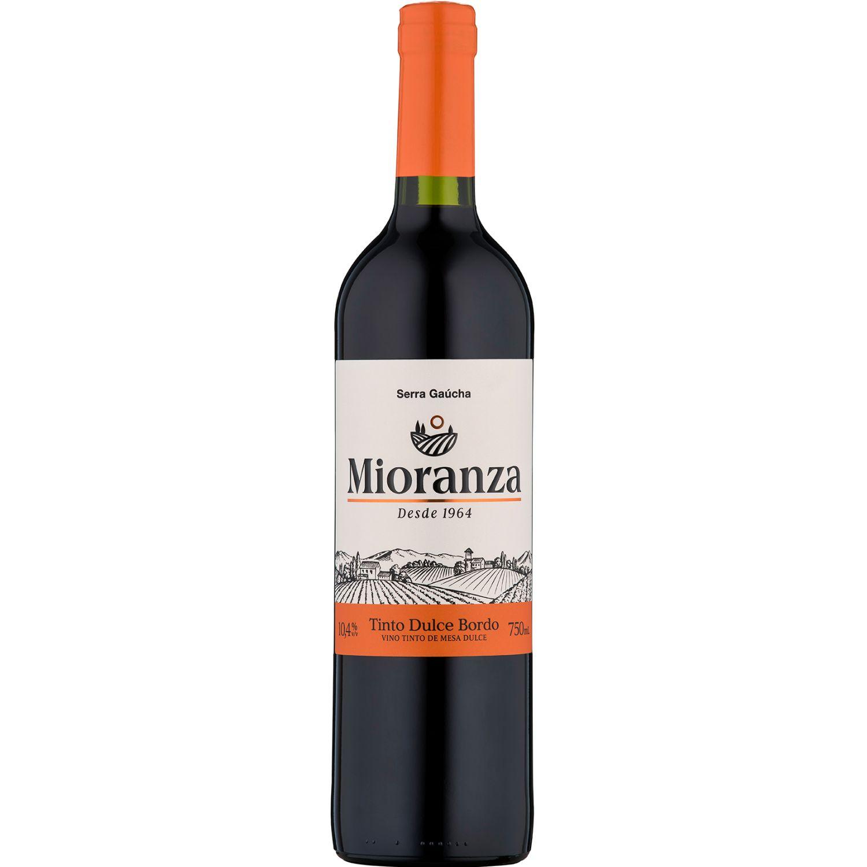 MIORANZA vino dulce x 750ml SIN COLOR Vino Tinto