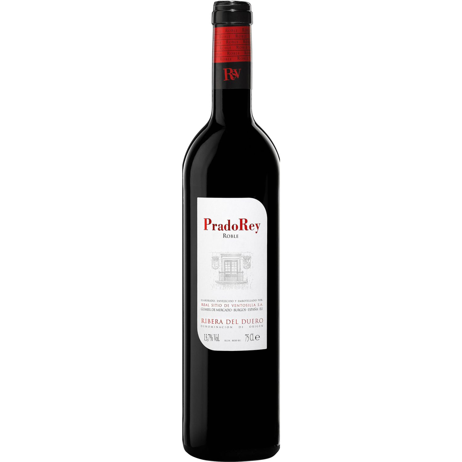 PRADO REY Roble El Origen X 750ml SIN COLOR Tinto