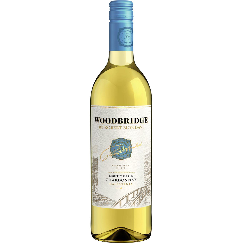 ROBERT MONDAVI Woodbrige Chardonnay X 750ml SIN COLOR Vino Tinto