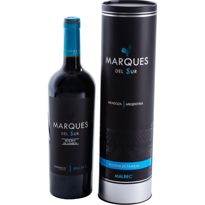 MARQUES DEL SUR Reserva Malbec X 750ml SIN COLOR Tinto