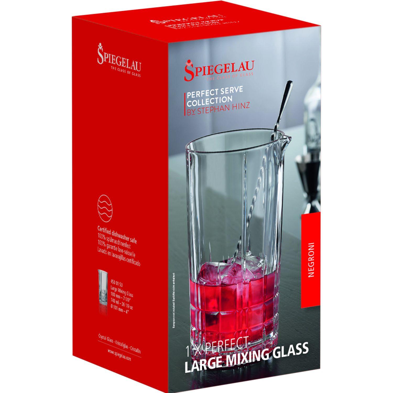 SPIEGELAU PERFECT SERVE VASO DE CRISTAL LARGE MIXING GLASS TRANSPARENTE Vasos