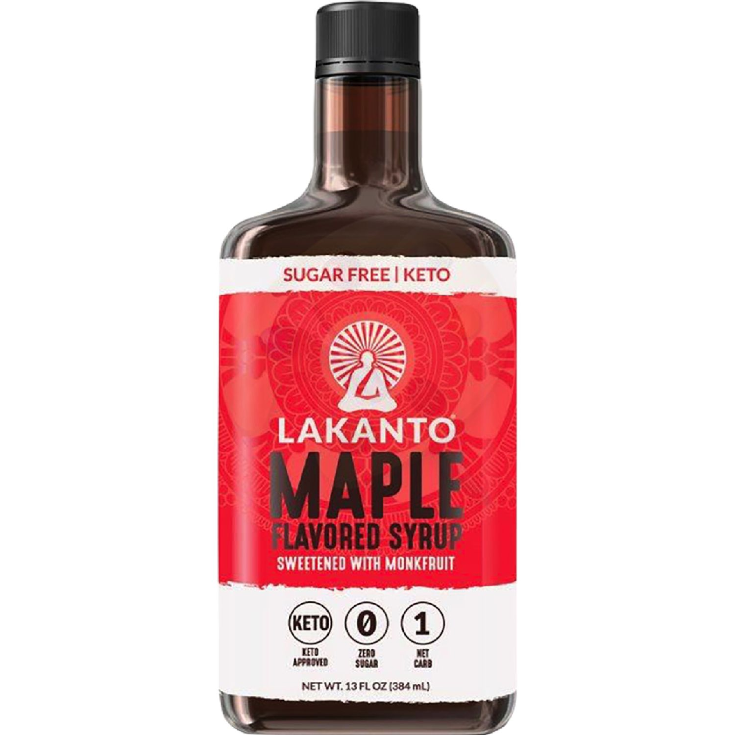 Lakanto Maple Syrup SIN COLOR Miel de maple