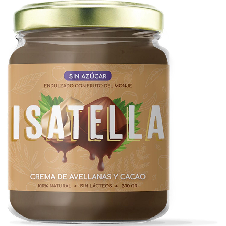 Zana Isatella Crema De Avellanas Y Cacao 230g SIN COLOR Jarabes, Azúcares y Edulcorantes