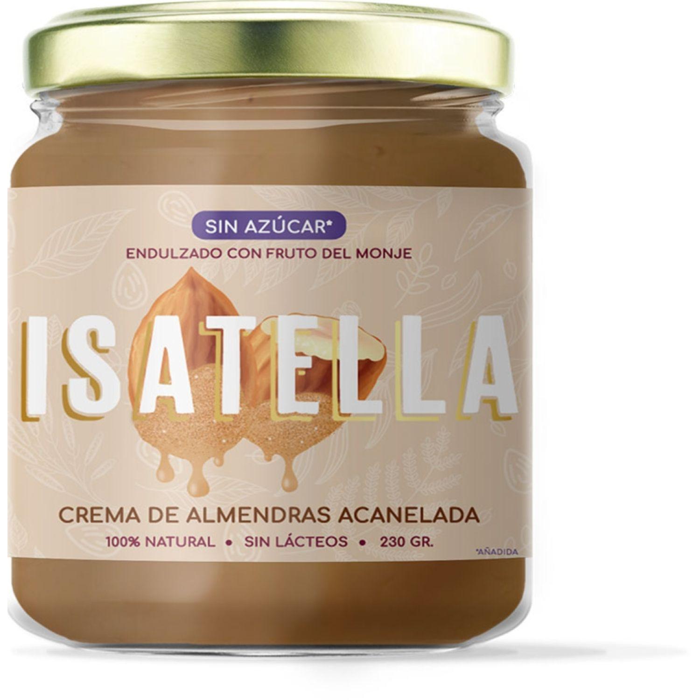 Zana Isatella Crema De Almendras Acanelada 230g SIN COLOR