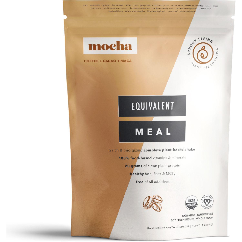 Sprout Living Proteína Vegana Equivalent Meal Mocha 520g SIN COLOR Mezclas